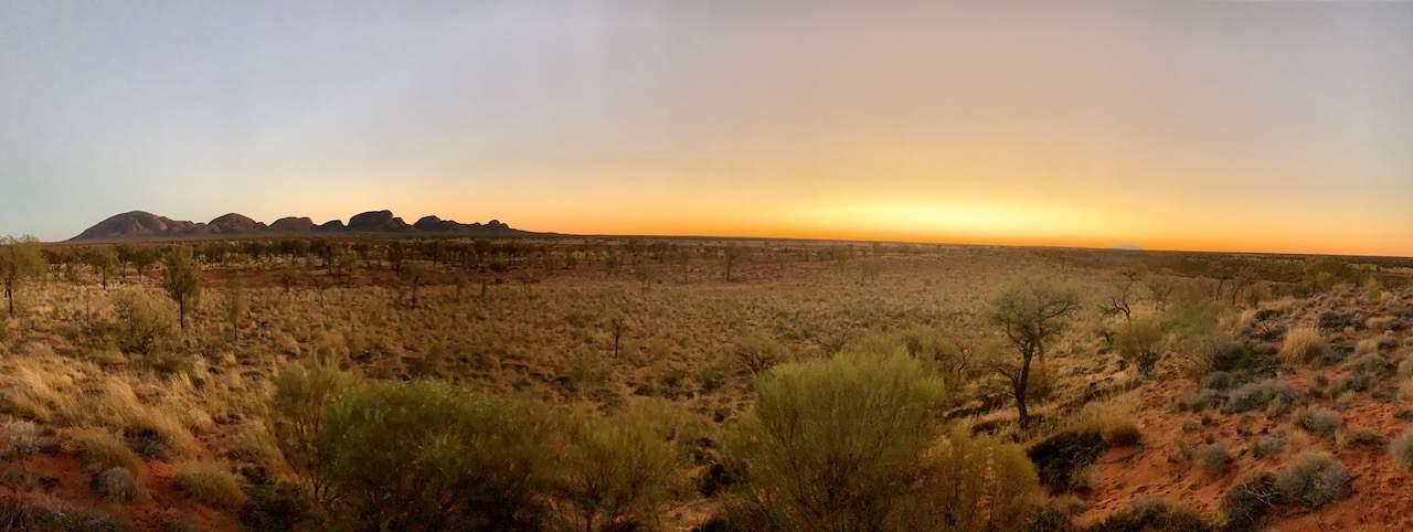 Kata Tjuta and Uluru Sunrise