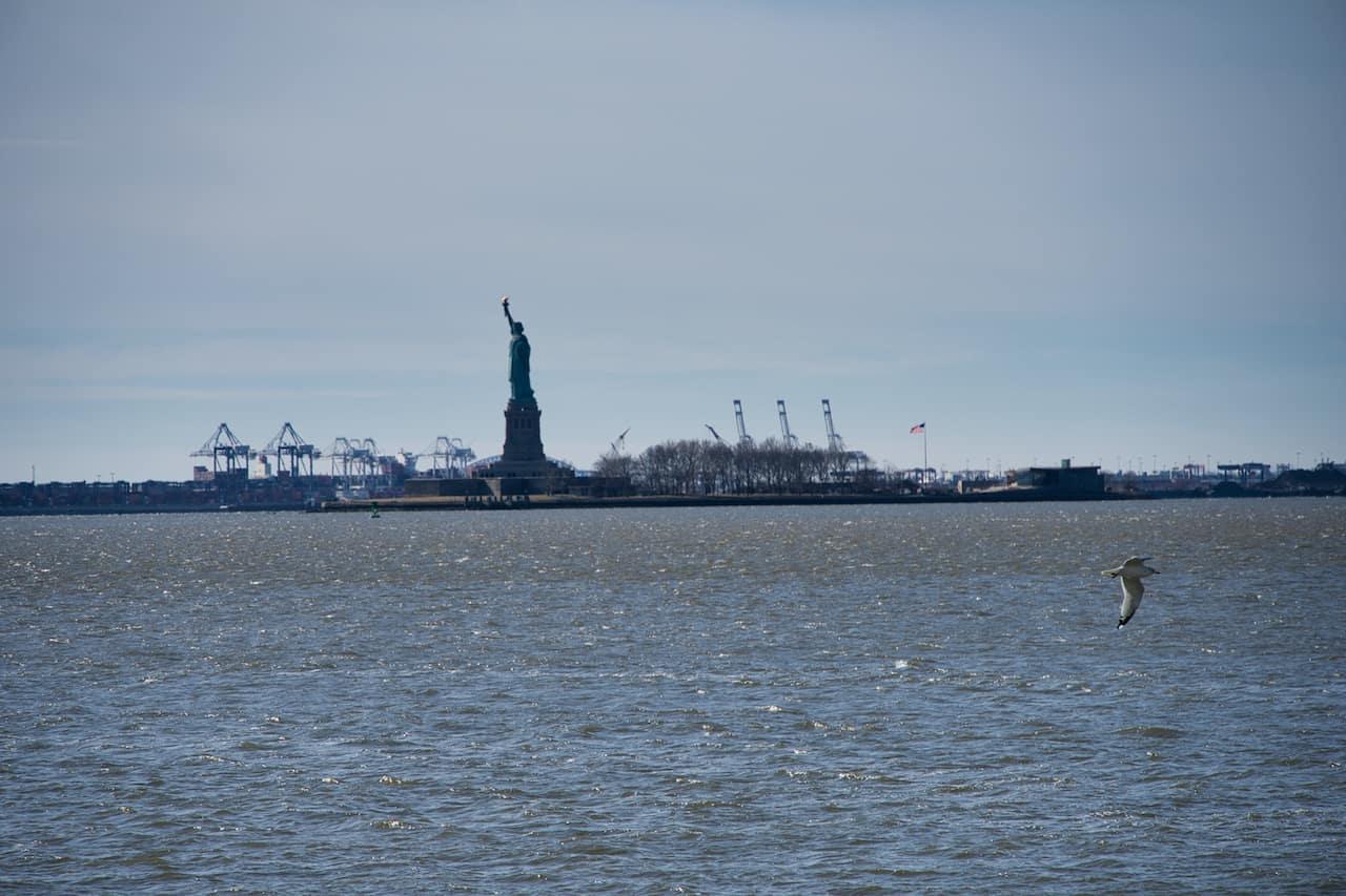 Statue of Liberty View Manhattan