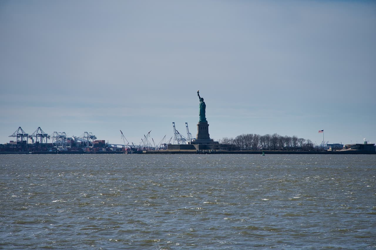 Statue of Liberty View from Battery Park
