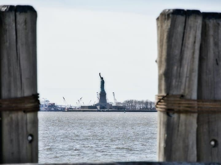 The Statue of Liberty View from Battery Park