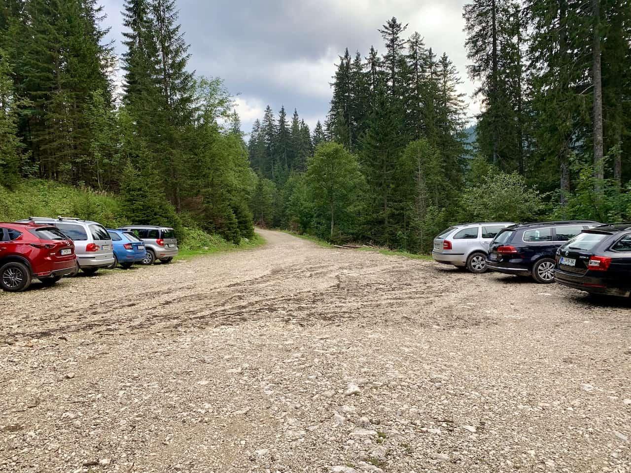 Triglav Parking Lot