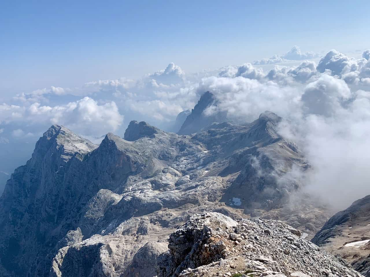 Triglav Summit Clouds