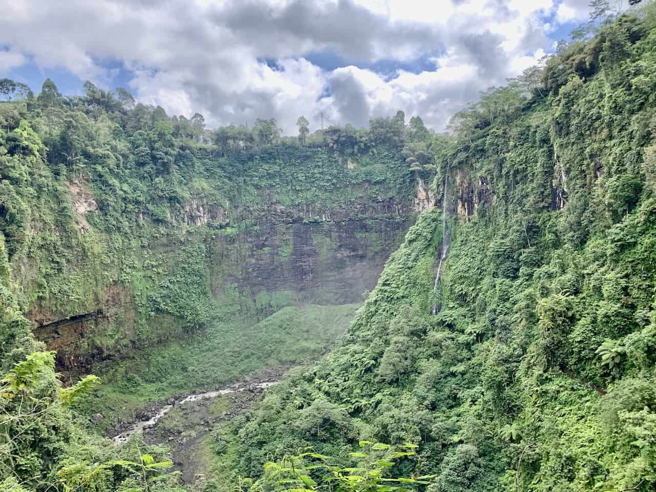 Waterfall Valley East Java