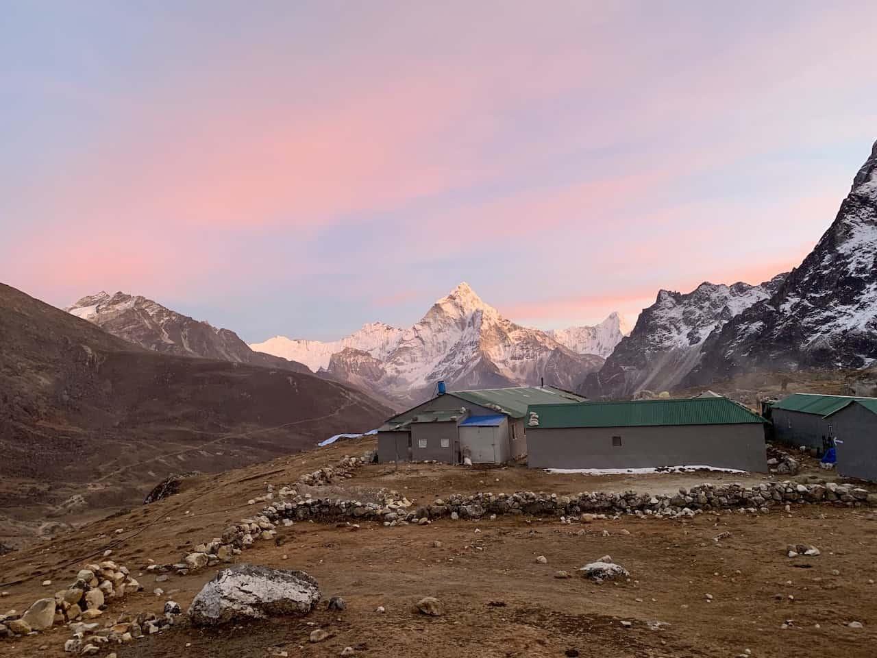 Dzongla Sunrise