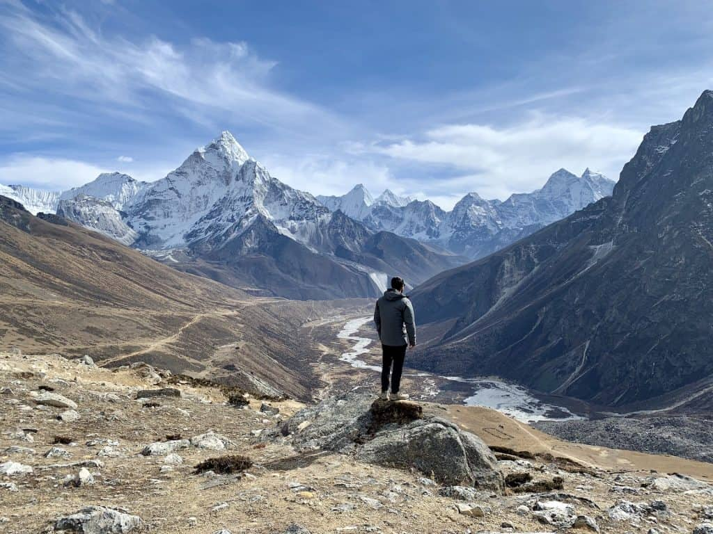 Gorak Shep to Dzongla
