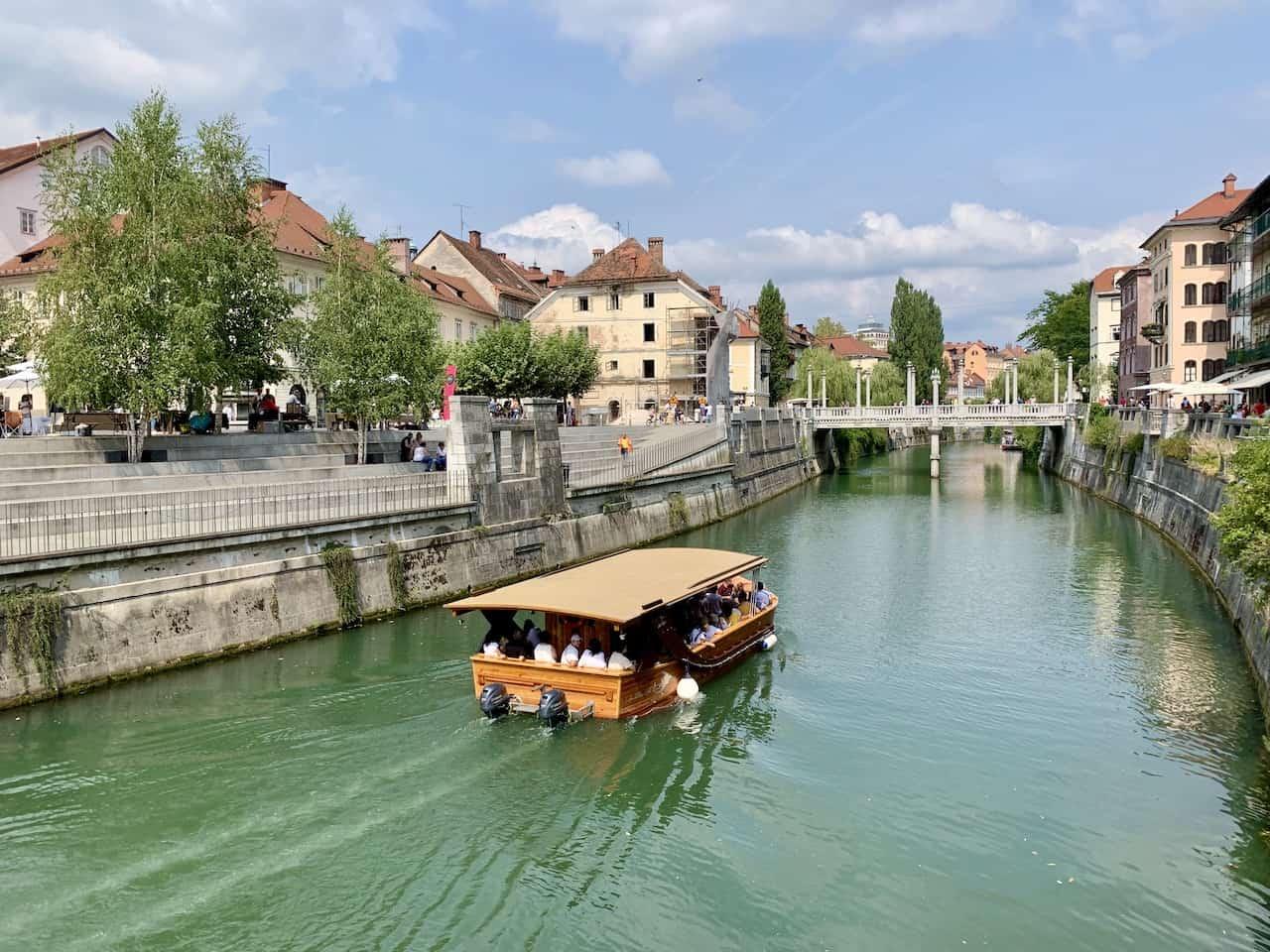 Ljubljanica River Boat