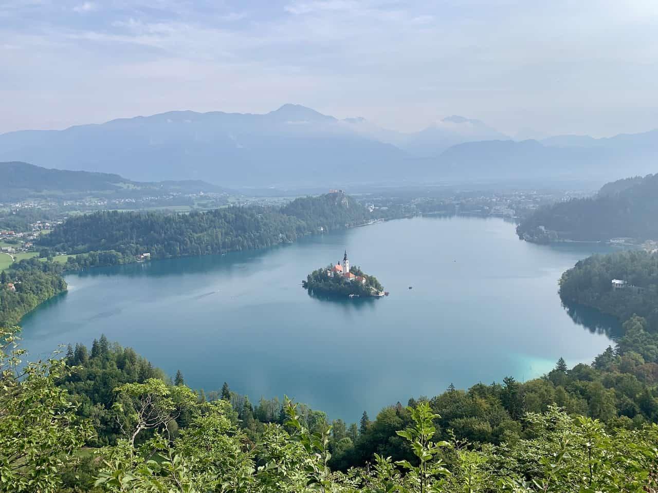 Mala Osojnica Lake Bled