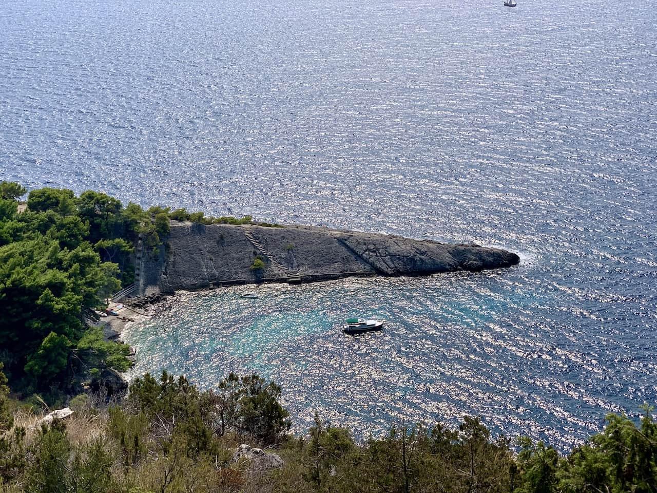 Malo Zarace Beach View