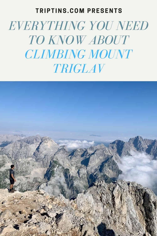 Mount Triglav TripTins
