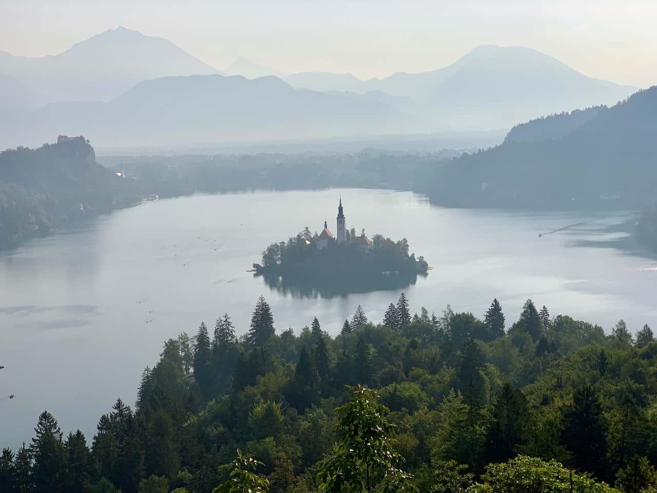Ojstrica Lake Bled
