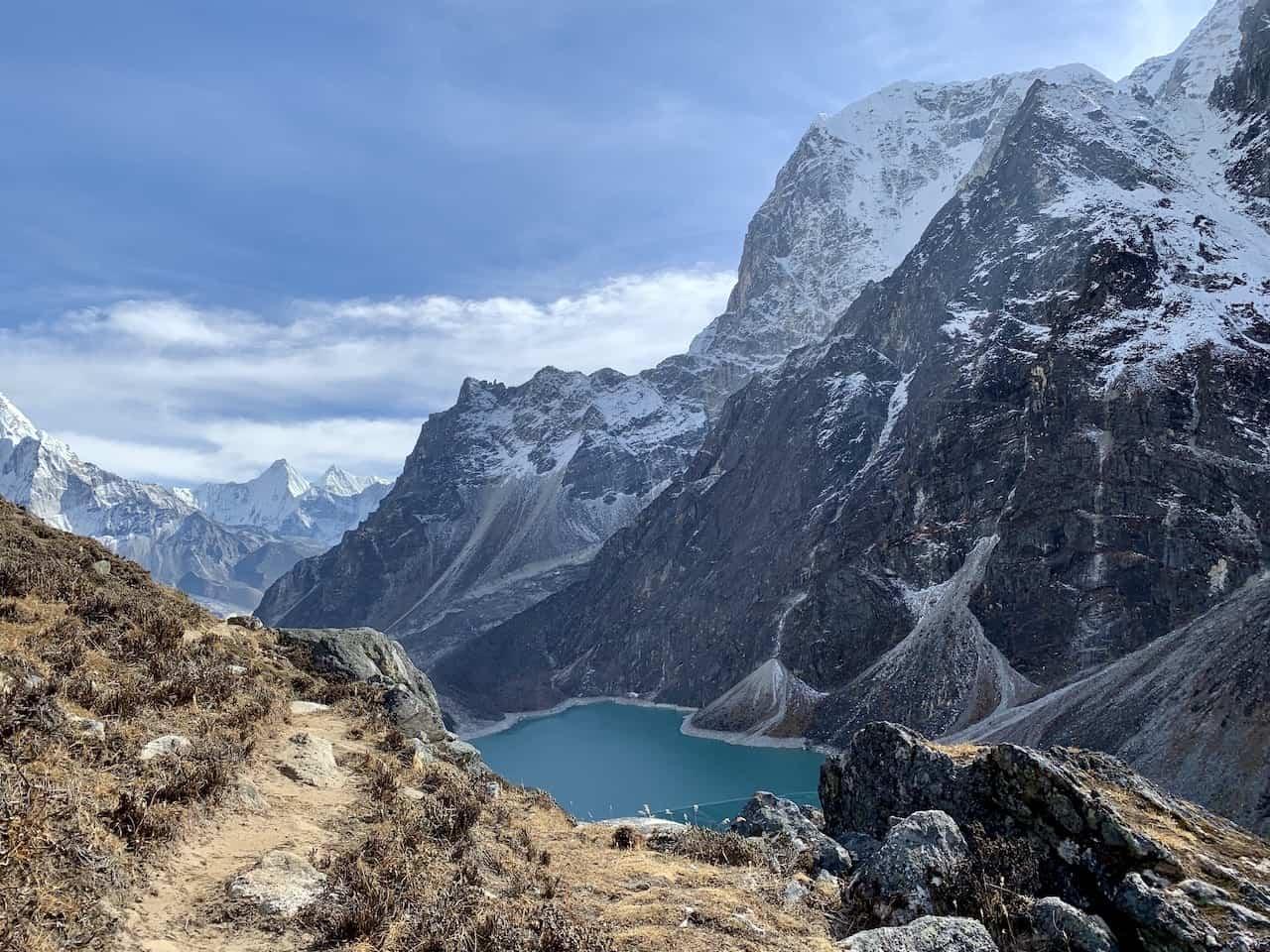 Alpine Lake Himalayas