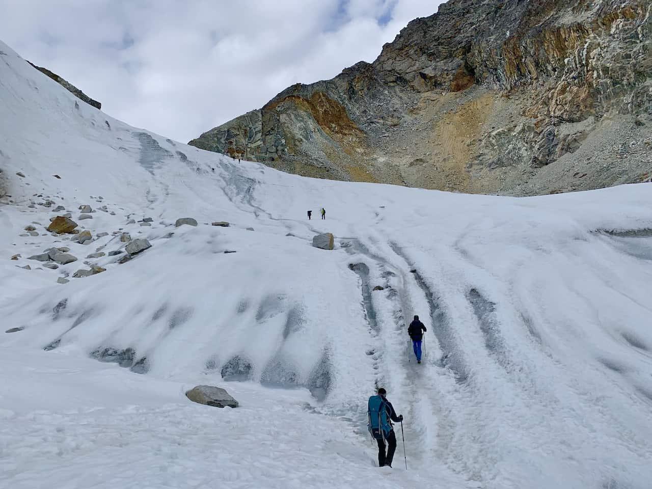 Cho La Ice Hiking