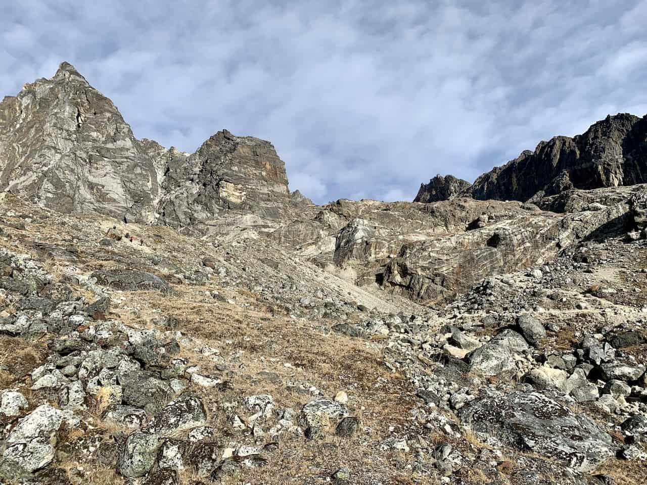 Cho La Pass Elevation