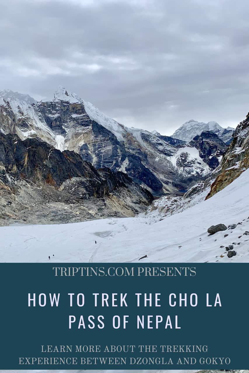 Cho La Pass Nepal Trek