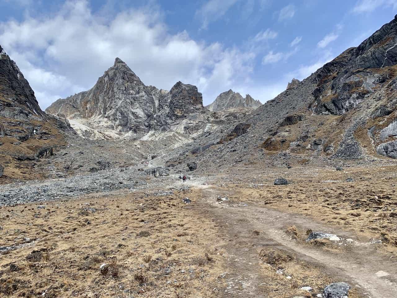 Dzongla to Cho La Pass
