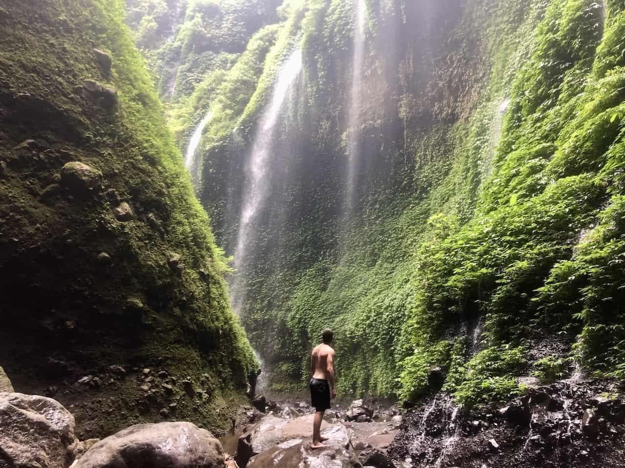East Java Bromo Waterfall