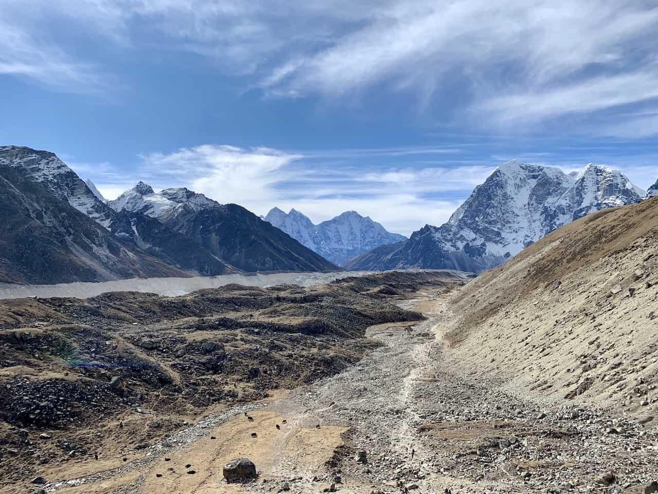 Gorak Shep to Lobuche Khumbu