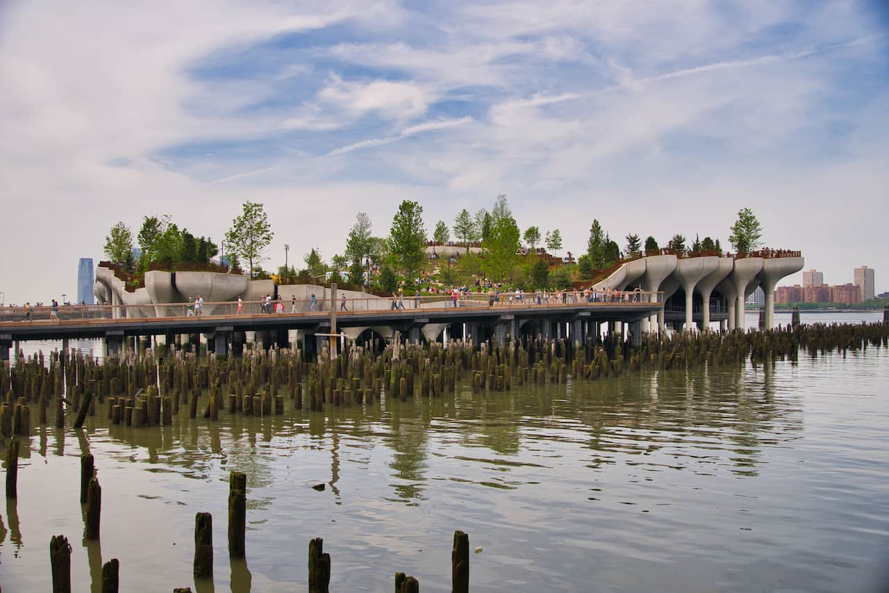 Little Island Hudson River Park