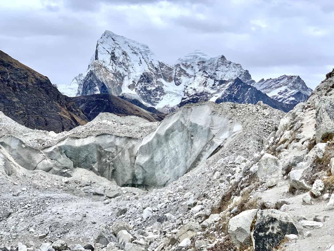 Ngozumpa Glacier Ice