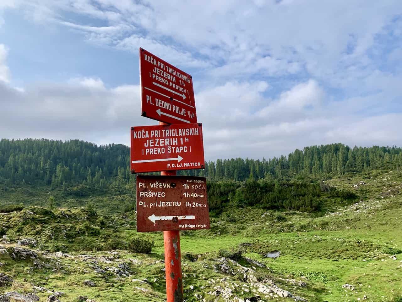 Planina Ovcarija Triglav