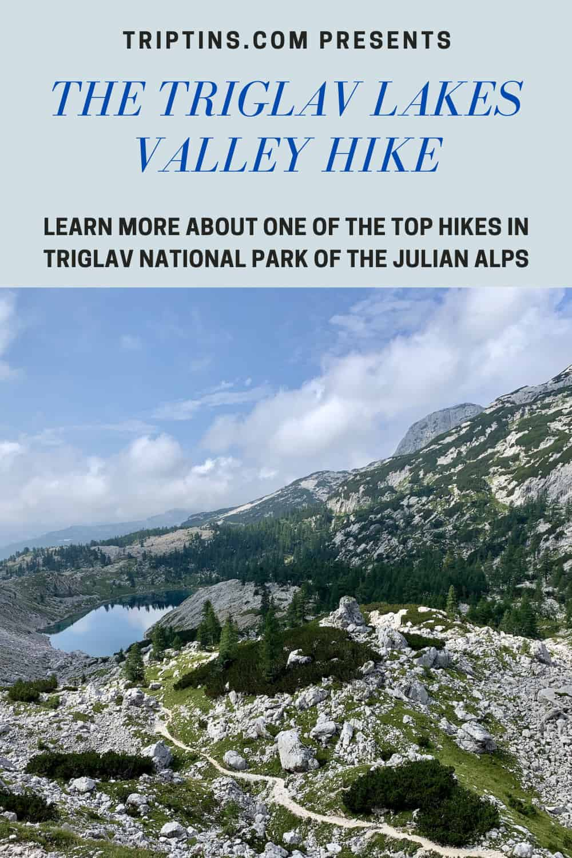 Triglav Lakes Hike Julian Alps Slovenia