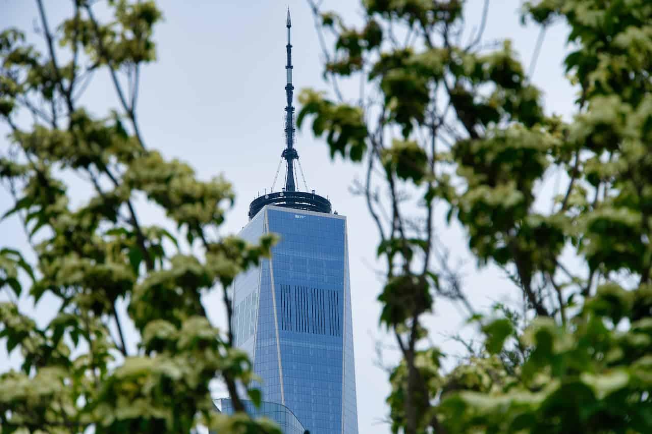World Trade Center Hudson River View