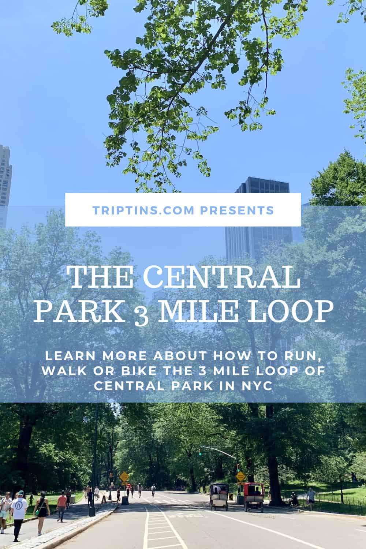 3 Mile Loop Central Park