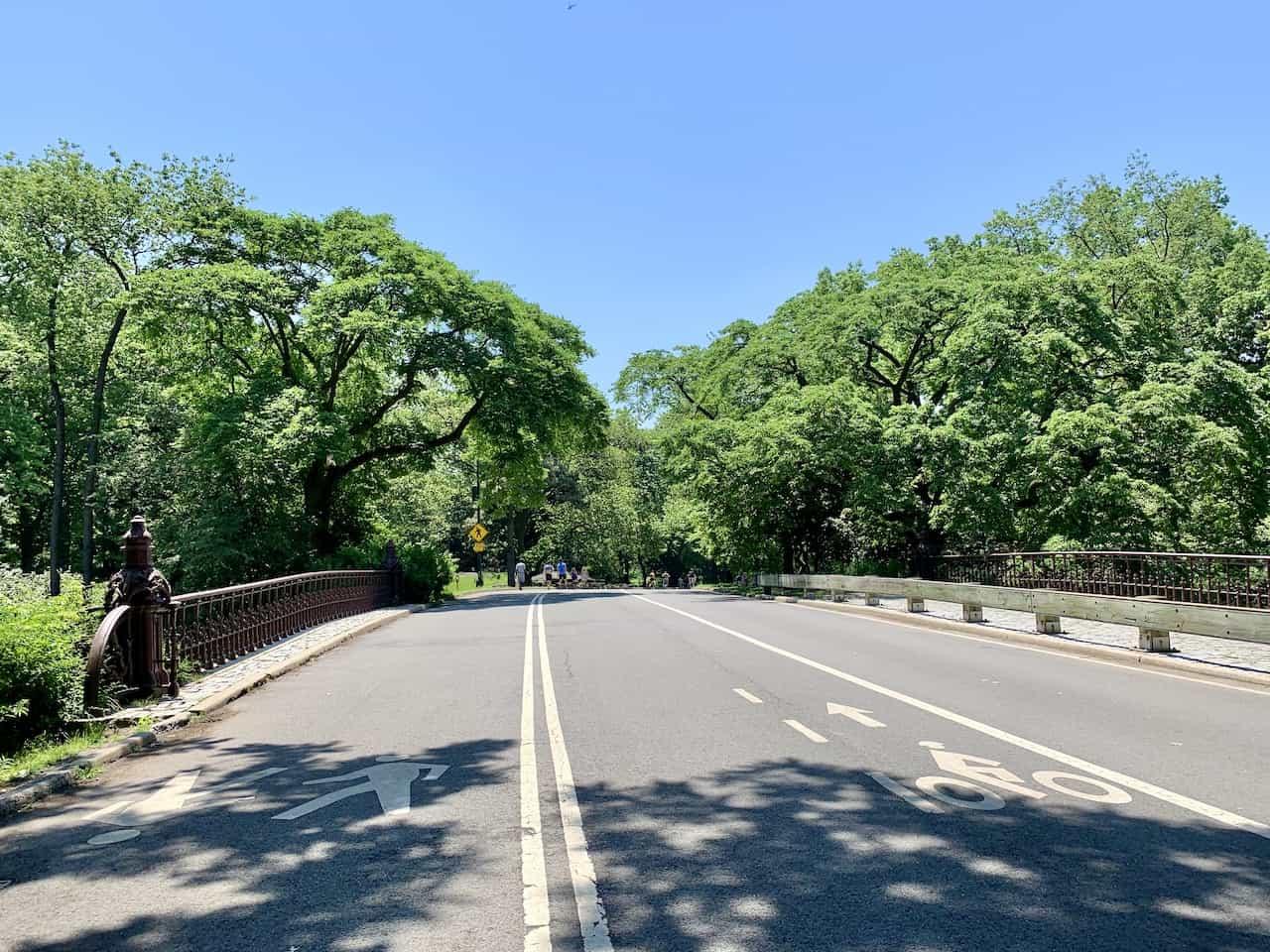 Central Park Three Mile Loop Bridge