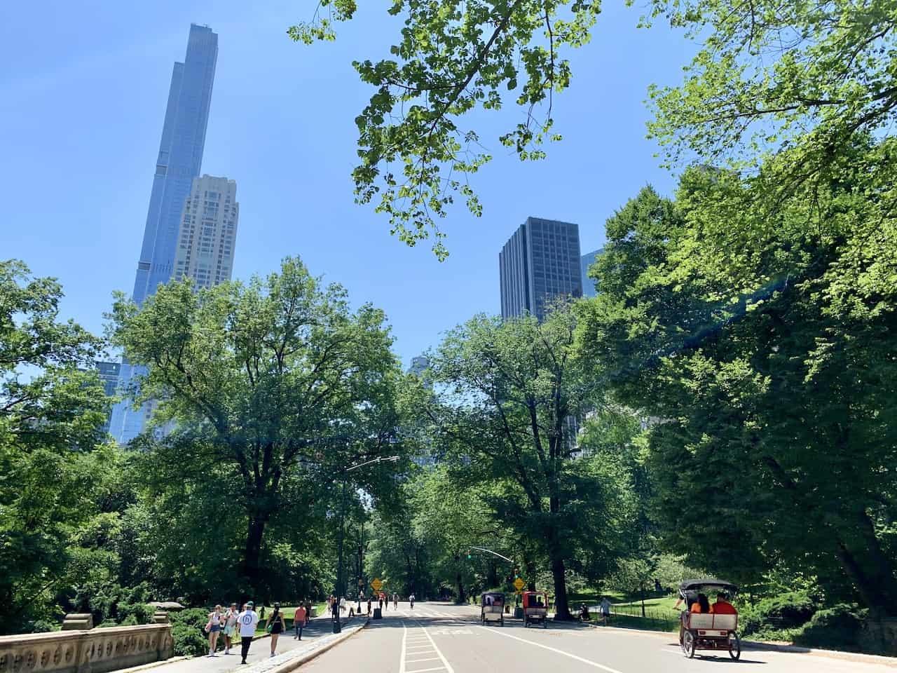 Central Park Three Mile Walking Loop