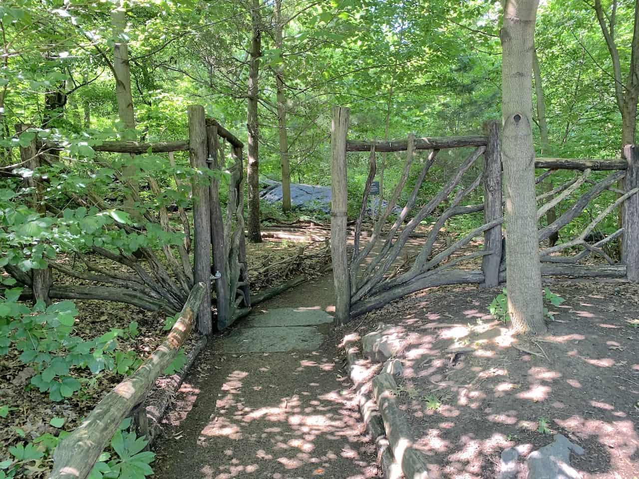 Hallett Nature Sanctuary Entrance
