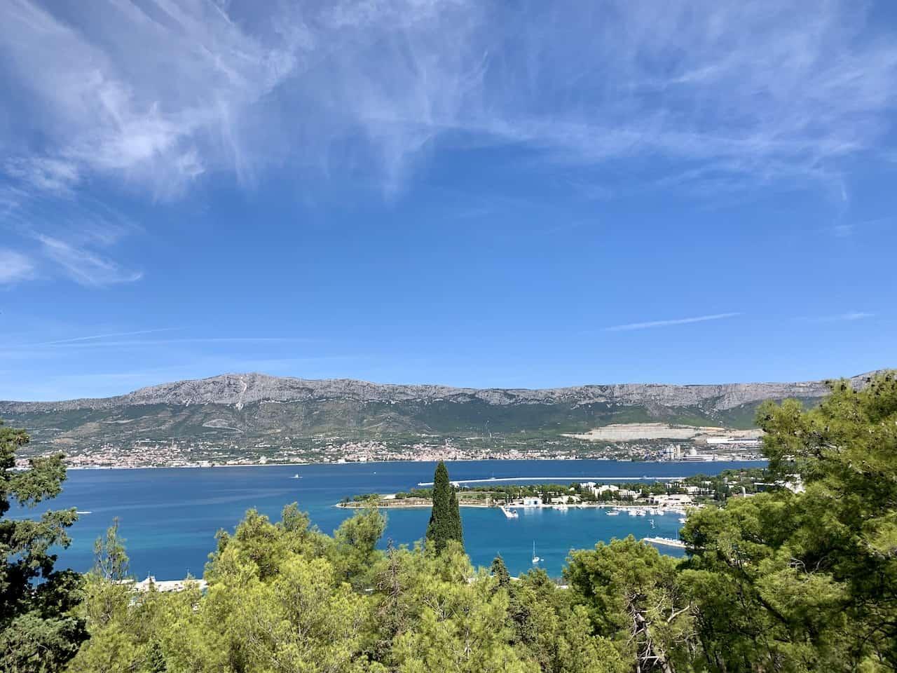 Marjan Hill Adriatic Sea