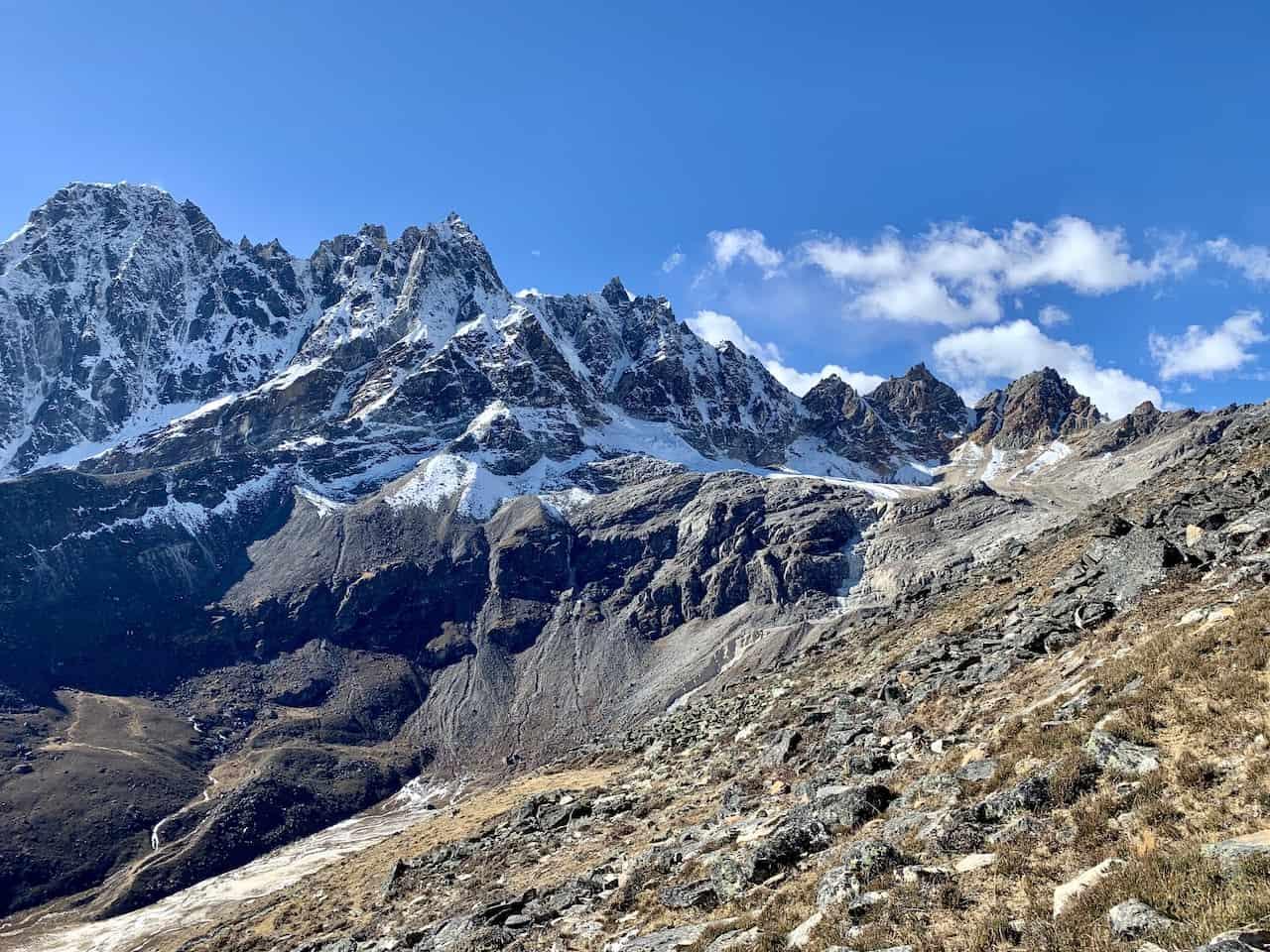 Khumbu Mountain Ranges