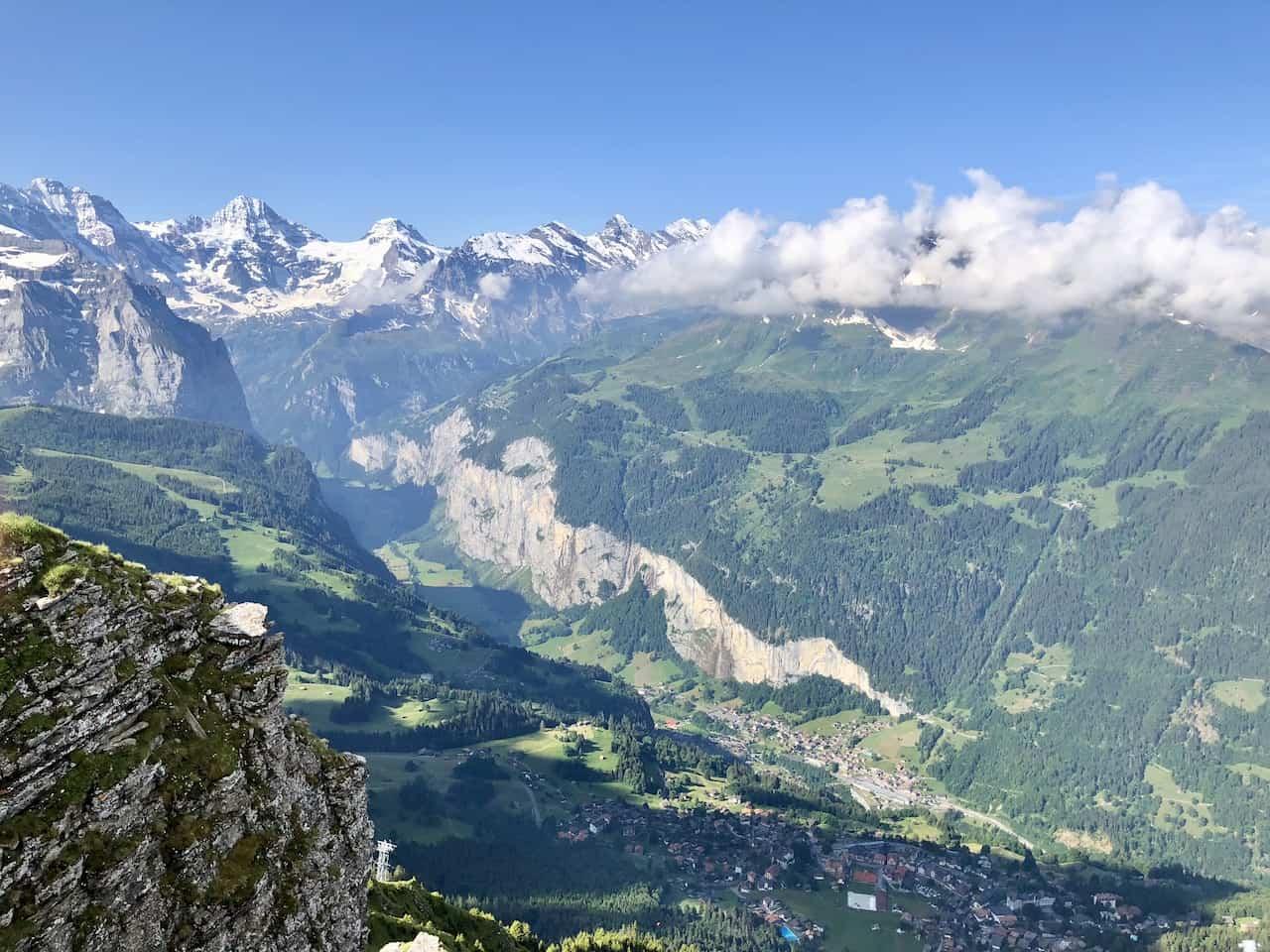 Lauterbrunnen Valley View Mannlichen