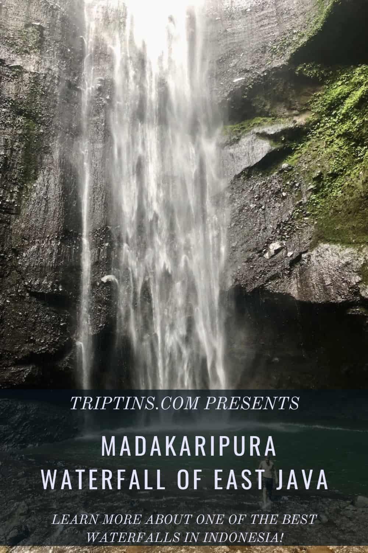 Madakaripura Waterfall of East Java Indonesia