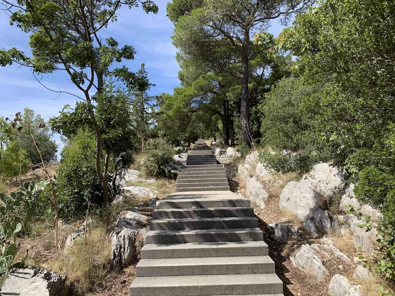Marjan Hill Staircase