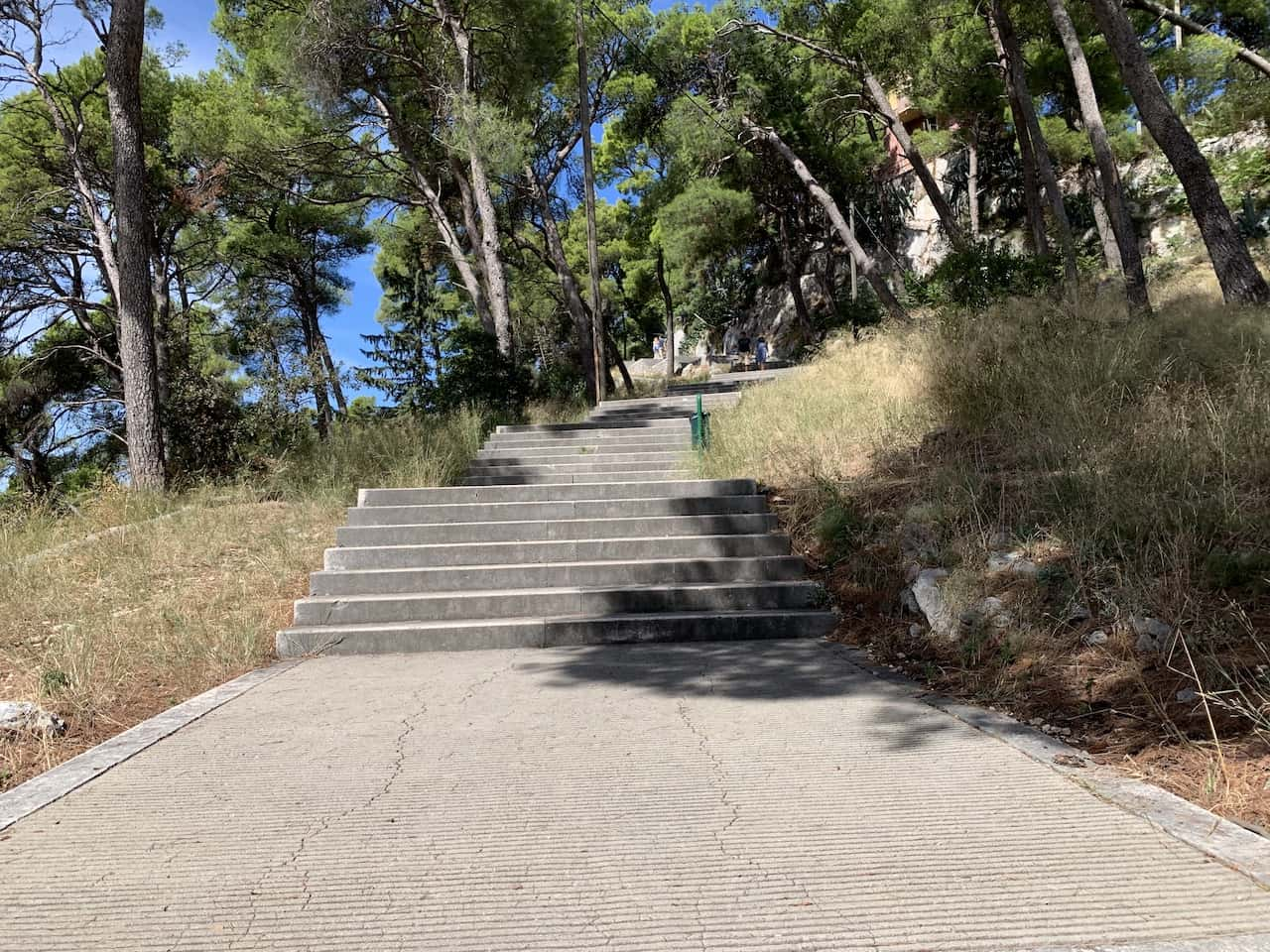 Marjan Hill Stairs