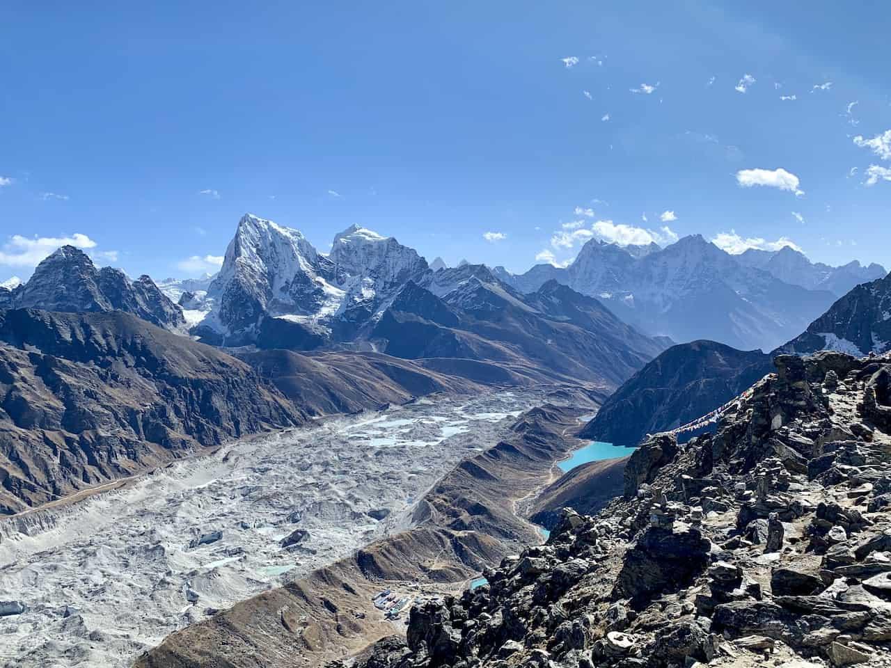 Ngozumpa Glacier Gokyo