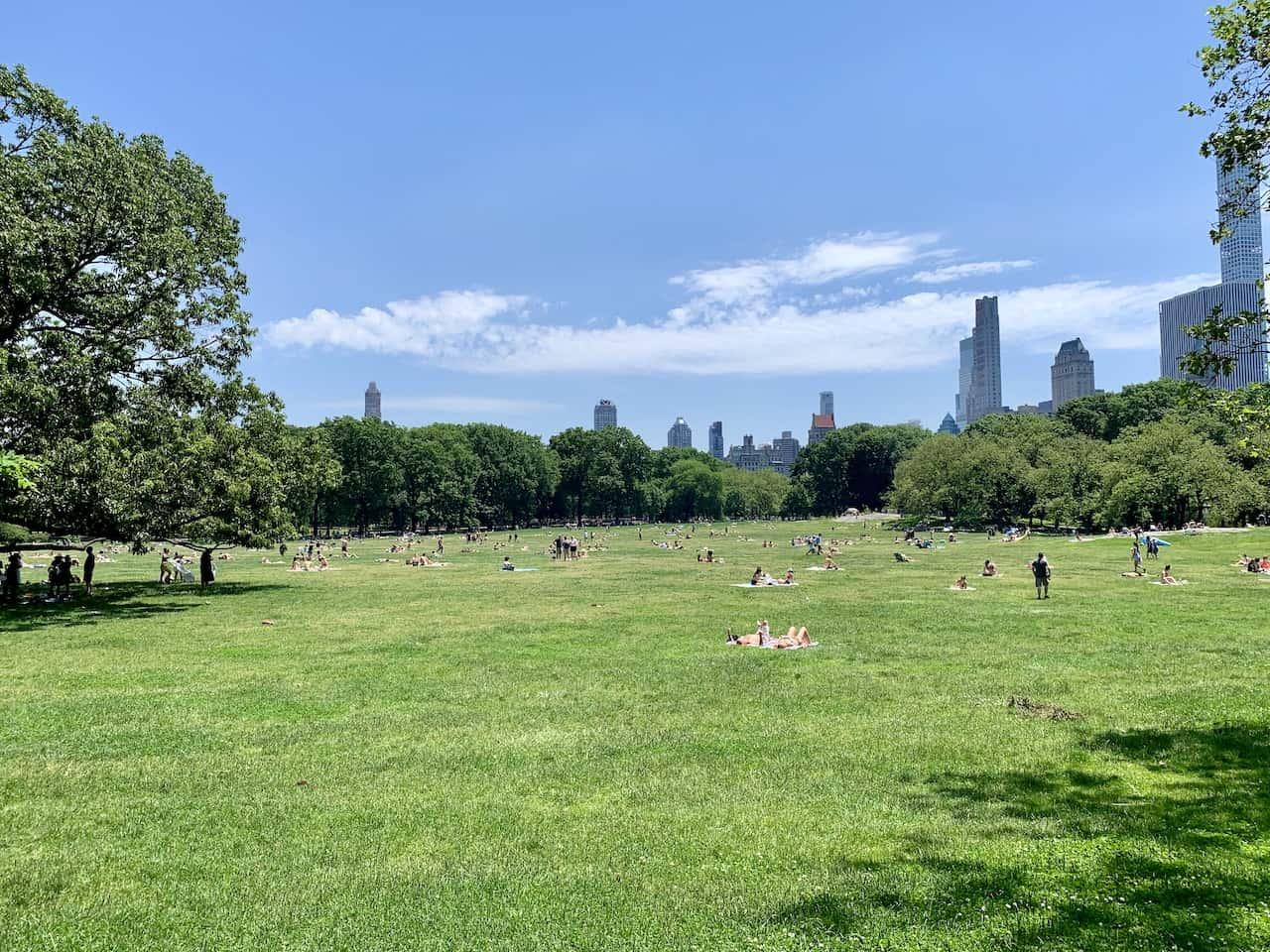 Sheep Meadow Central Park Loop