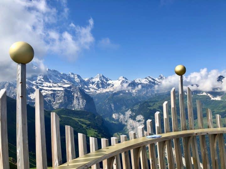 The Mannlichen Royal Walk of Wengen Switzerland