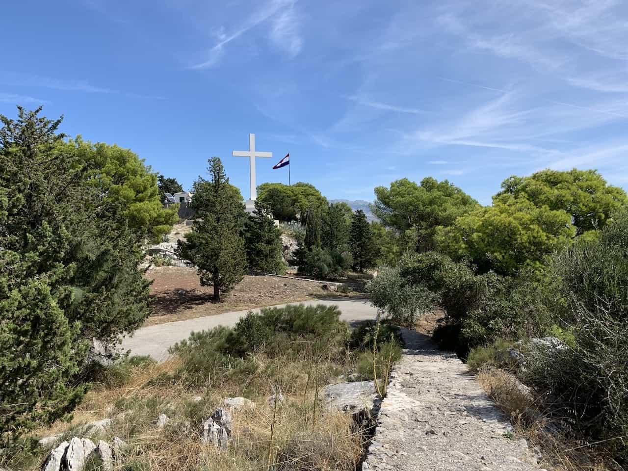Top of Marjan Hill