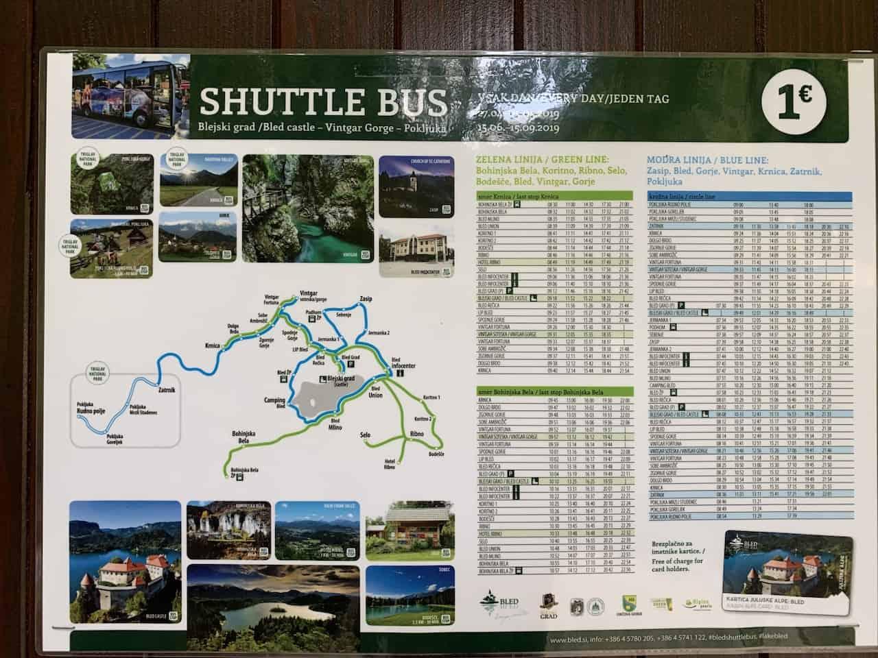 Bled Shuttle Bus
