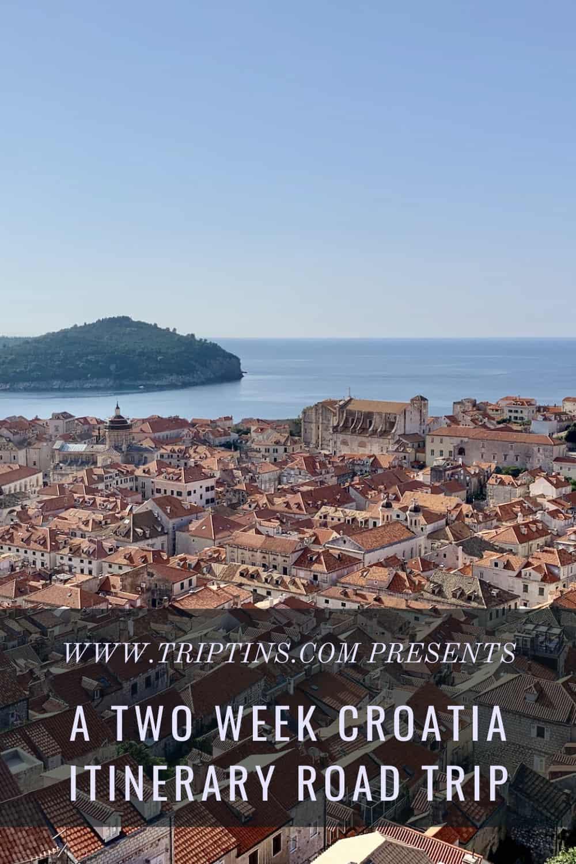 Croatia Itinerary Road Trip
