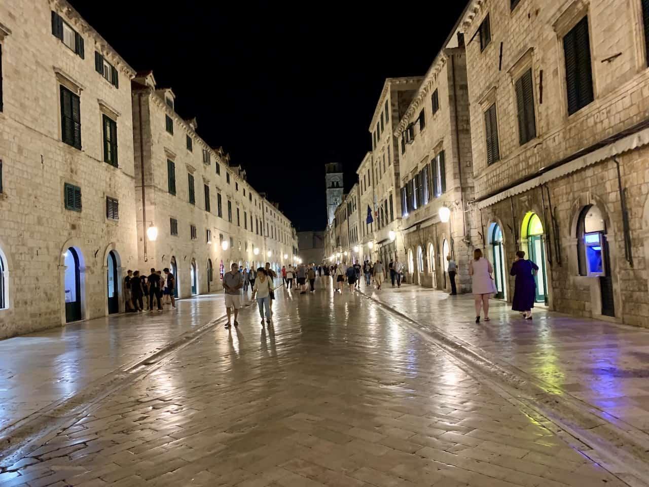 Dubrovnik Night Walk