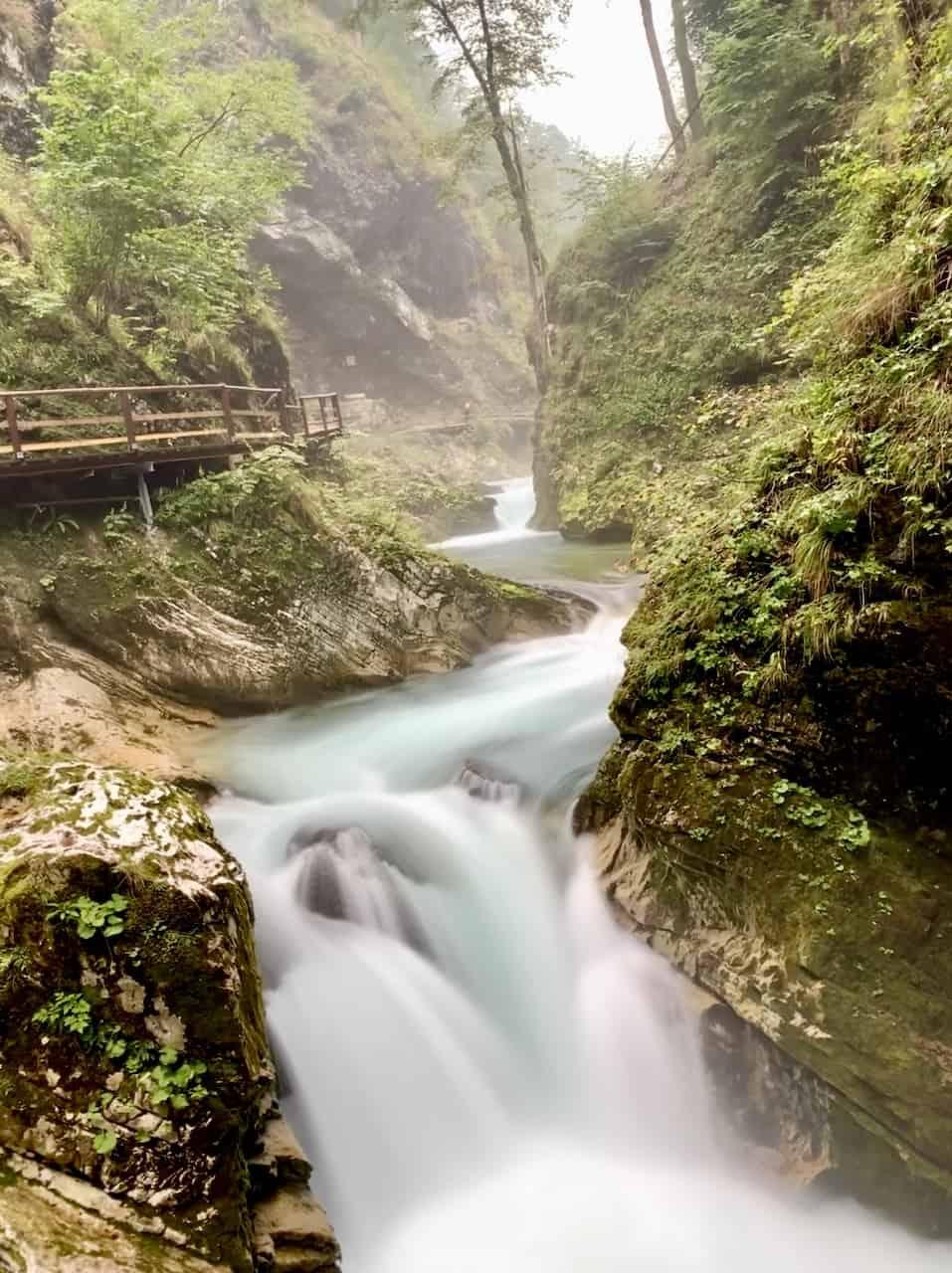 Lake Bled Gorge