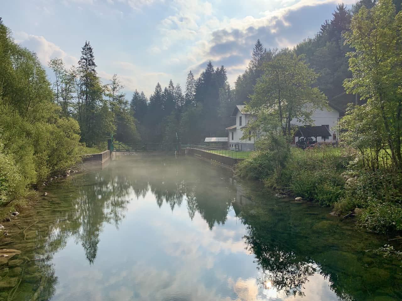 Lake Bled Slovenia River