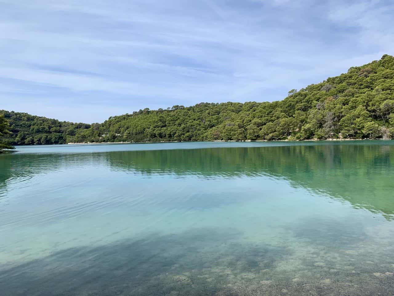 Mljet National Park Lake