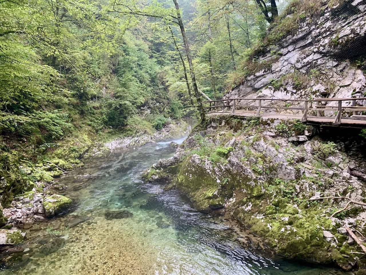Radovna River Gorge