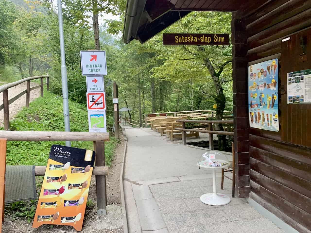 Vintgar Gorge Entrance