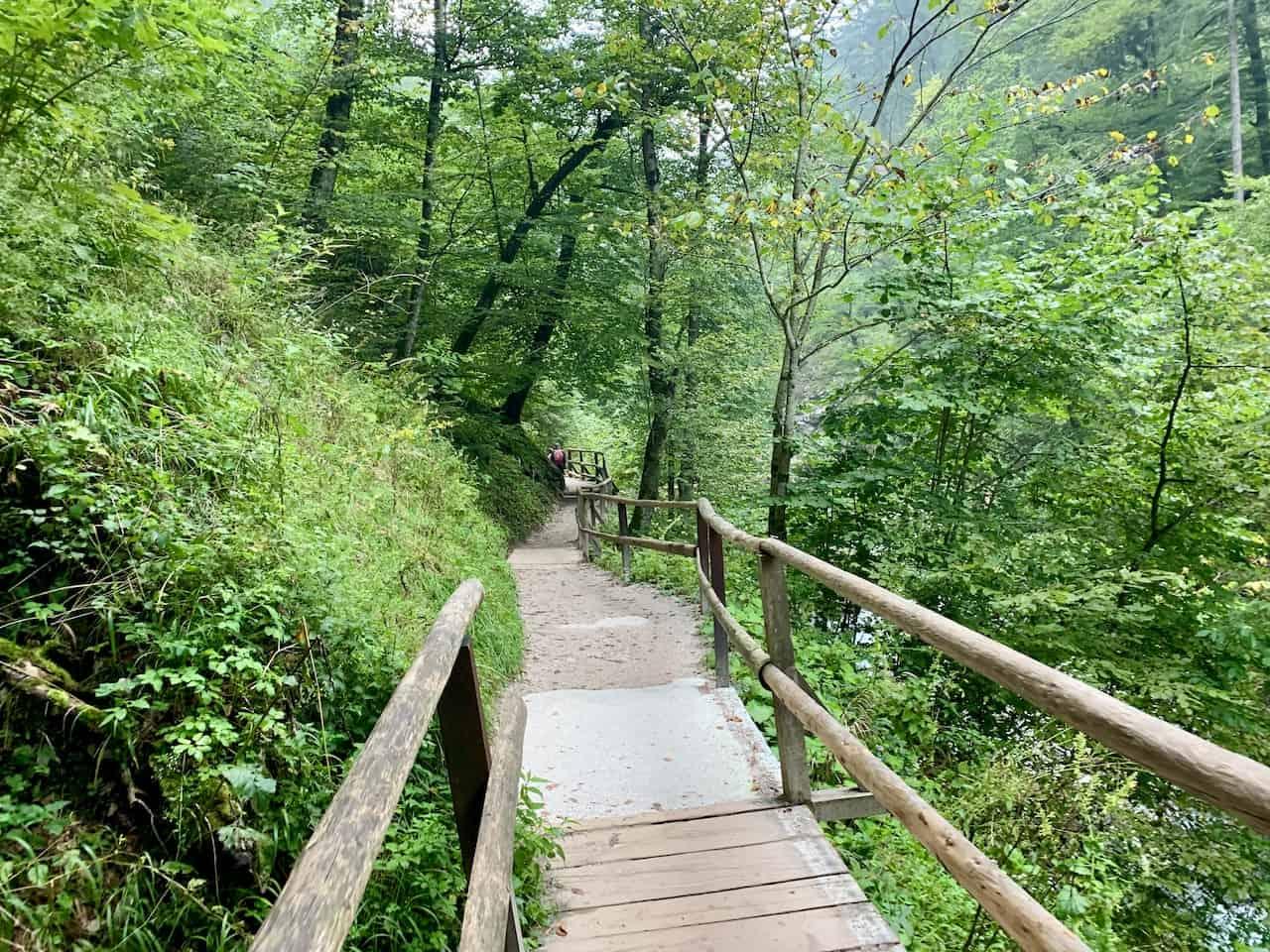 Vintgar Gorge Walking Trail