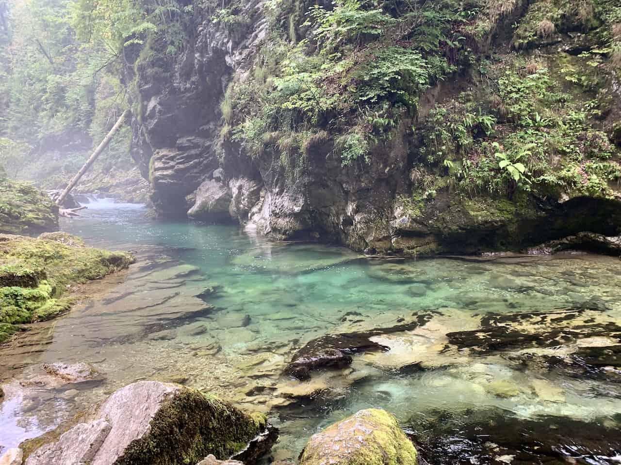 Vintgar Gorge Water